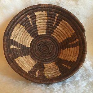 Sisal - Sweetgrass  Hand Woven Basket